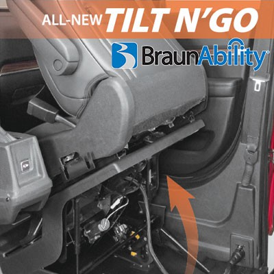 BraunAbility MXV With New TILT N' GO Seating