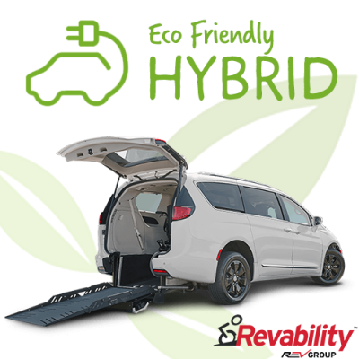 All New Hybrid Chrysler Pacifica Mobility Vehicle