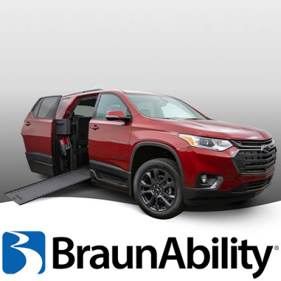 Coming Soon! All New Chevrolet Traverse with BraunAbility MXV Conversion