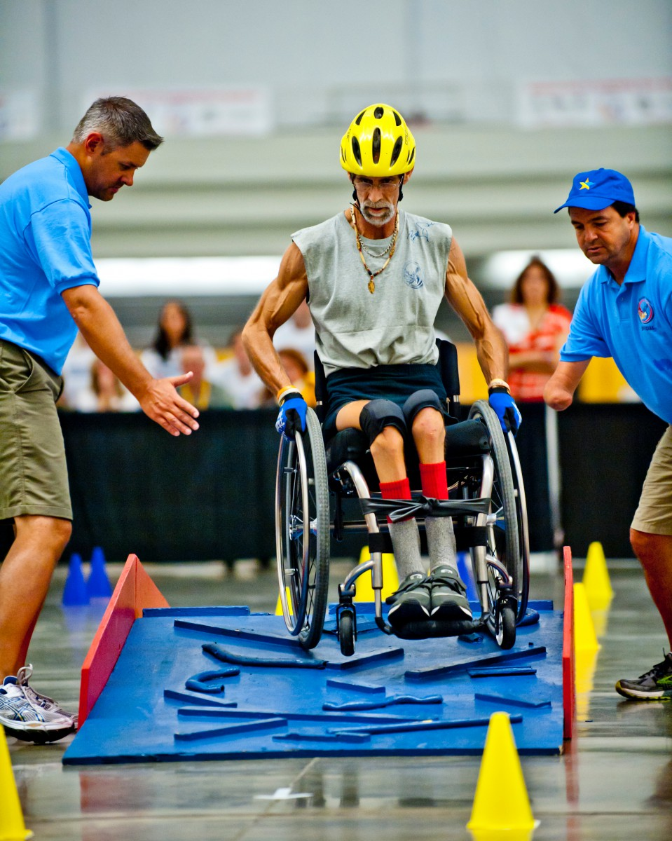 National Veterans Wheelchair Games Slalom Competition
