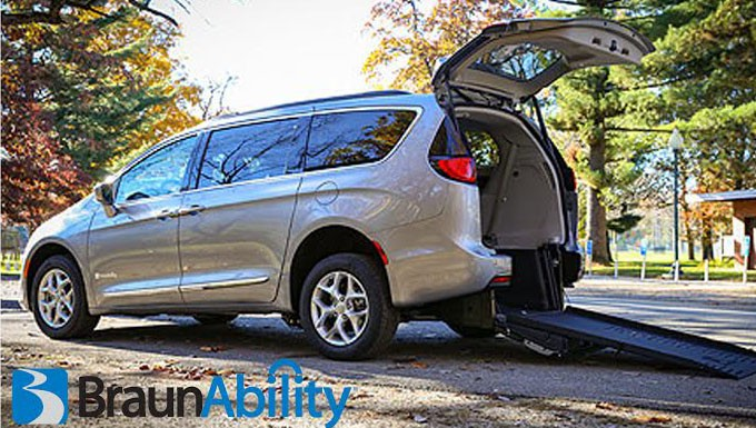 BraunAbility Chrysler Pacifica Rear Entry Wheelchair Van