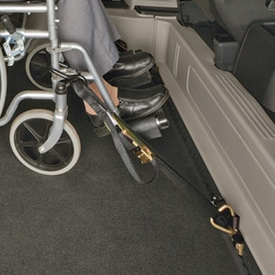manual wheelchair tie downs