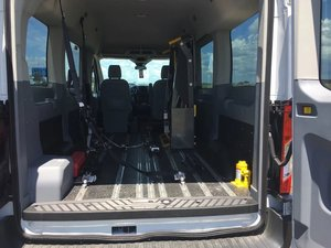 Used Wheelchair Van For Sale: 2017 Ford Transit S Wheelchair Accessible Van For Sale with a  on it. VIN: 1FMZK1CM5HKA57764