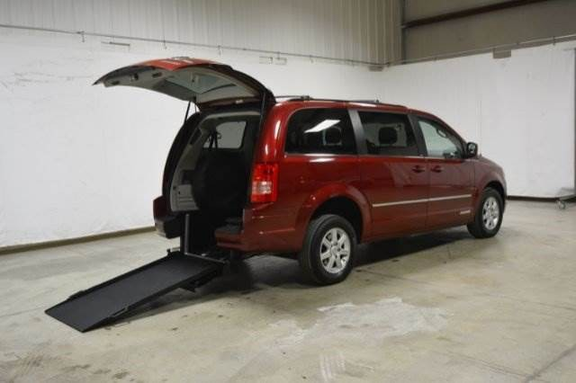 2010 Chrysler Town Country Wheelchair Van For Sale