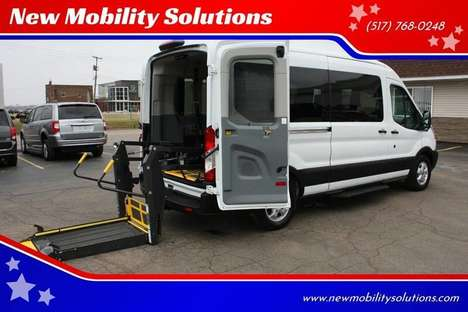 Used Wheelchair Van For Sale: 2019 Ford Transit S Wheelchair Accessible Van For Sale with a  on it. VIN: 1FBAX2CM4KKA98858