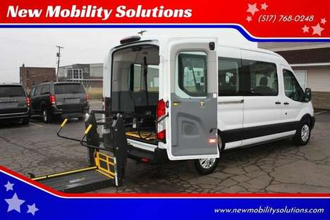 Used Wheelchair Van For Sale: 2019 Ford Transit S Wheelchair Accessible Van For Sale with a  on it. VIN: 1FBAX2CM5KKB25629