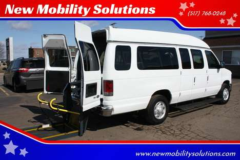 Used Wheelchair Van For Sale: 2012 Ford E-Series SE Wheelchair Accessible Van For Sale with a  on it. VIN: 1FBSS3BL2CDA78678