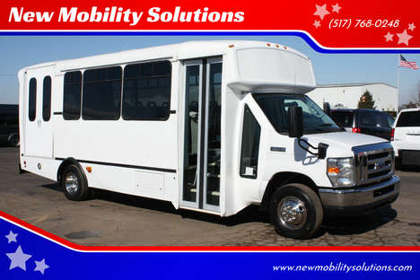 Used Wheelchair Van For Sale: 2014 Ford E-Series L Wheelchair Accessible Van For Sale with a  on it. VIN: 1FDFE4FS8EDA26661