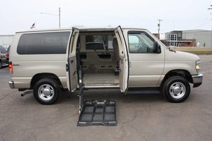 Used Wheelchair Van For Sale: 2008 Ford E-150 S Wheelchair Accessible Van For Sale with a  on it. VIN: 1FMNE11LX8DA22867