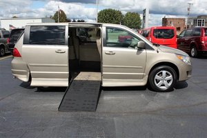 Used Wheelchair Van For Sale: 2009 Volkswagen Routan SE Wheelchair Accessible Van For Sale with a  on it. VIN: 2V8HW34199R558913