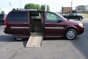 Used Wheelchair Van For Sale: 2007 Buick Terraza XL Wheelchair Accessible Van For Sale with a  on it. VIN: 4GLDV131X7D120838