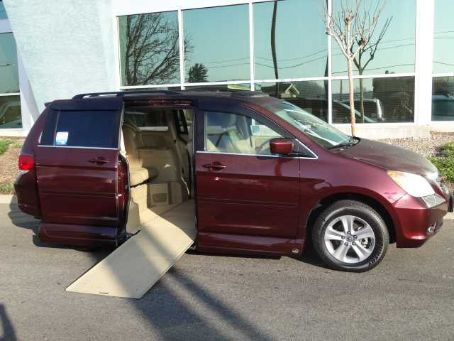2010 honda odyssey wheelchair van for sale sacramento. Black Bedroom Furniture Sets. Home Design Ideas