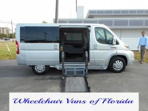Used Wheelchair Van For Sale: 2017 Ram Promaster Low Roof Wheelchair Accessible Van For Sale with a  on it. VIN: 3C6TRVAG2HE500523