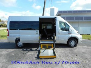 New Wheelchair Van For Sale: 2018 Ram Promaster Cargo Van Wheelchair Accessible Van For Sale with a  on it. VIN: 3C7WRVPG5JE129928