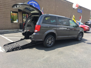 New Wheelchair Van For Sale 2017 Dodge Grand Caravan SXT Accessible