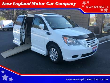 Used Wheelchair Van For Sale: 2008 Honda Odyssey L Wheelchair Accessible Van For Sale with a  on it. VIN: 5FNRL38778B413273