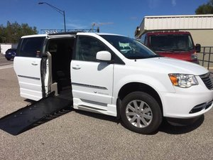 New Wheelchair Van For Sale 2016 Chrysler Town Country Touring Accessible