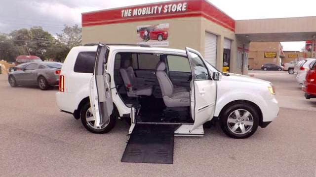 2015 honda pilot wheelchair van for sale lakeland fl for Wheelchair accessible homes for sale in florida