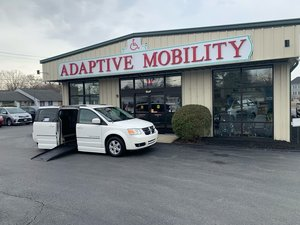 Used Wheelchair Van For Sale: 2010 Dodge Grand Caravan S Wheelchair Accessible Van For Sale with a  on it. VIN: 2D4RN5D12AR154678