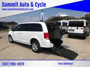 New Wheelchair Van For Sale: 2018 Dodge Grand Caravan SE Wheelchair Accessible Van For Sale with a  on it. VIN: 2C4RDGBG9JR364116