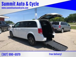 Used Wheelchair Van For Sale: 2018 Dodge Grand Caravan GT Wheelchair Accessible Van For Sale with a  on it. VIN: 2C4RDGEG5JR254448