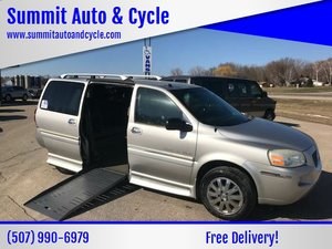 Used Wheelchair Van For Sale: 2005 Buick Terraza XL Wheelchair Accessible Van For Sale with a  on it. VIN: 4GLDV13L35D285138