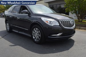 New Wheelchair Van For Sale: 2016 Buick Enclave Premium EL Wheelchair Accessible Van For Sale with a  on it. VIN: 5GAKRCKD3GJ242272
