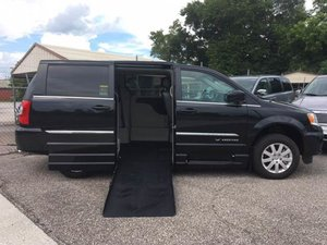 Used Wheelchair Van For Sale 2016 Chrysler Town Country Touring Accessible