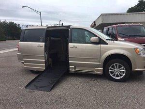 Used Wheelchair Van For Sale 2016 Dodge Grand Caravan SXT Accessible