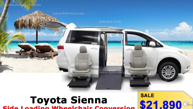 62cd5bd8db New Wheelchair Van For Sale  2019 Toyota Sienna Wheelchair Accessible Van  For Sale with a