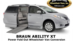 6977e1ee75 BraunAbility - Toyota Rampvan XT Wheelchair Van Conversion. Used Wheelchair  Van For Sale  2016 Toyota Sienna XLE Wheelchair Accessible Van For Sale with