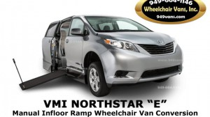 New Wheelchair Van For Sale: 2019 Toyota Sienna LE Wheelchair Accessible Van For Sale with a VMI - VMI Northstar E Toyota  on it. VIN: NORTHSTARE