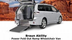 Used Wheelchair Van For Sale: 2006 Toyota Sienna XLE Wheelchair Accessible Van For Sale with a BraunAbility - Toyota Power Rear Entry on it. VIN: 5TDZA22C86S506558