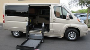 New Wheelchair Van For Sale: 2018 Dodge Ram Cargo 1500  Wheelchair Accessible Van For Sale with a TEMPEST Pro-Master - Tempest X on it. VIN: 3C6TRVAG6JE147435