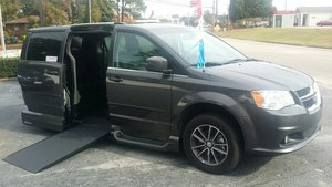 Used Wheelchair Van For Sale: 2017 Dodge Grand Caravan SXT Wheelchair Accessible Van For Sale with a VMI Dodge Northstar on it. VIN: 2C4RDGCG7HR664312