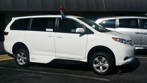 New Wheelchair Van For Sale: 2017 Toyota Sienna LE Wheelchair Accessible Van For Sale with a VMI VMI Northstar E Toyota  on it. VIN: 5TDKZ3DC6HS873961