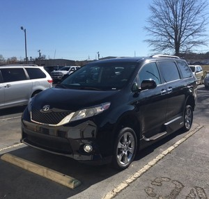 Used Wheelchair Van For Sale: 2014 Toyota Sienna SE Wheelchair Accessible Van For Sale with a VMI Toyota NorthstarAccess360 on it. VIN: 5TDXK3DC7ES409020