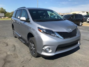 New Wheelchair Van For Sale: 2017 Toyota Sienna SE Wheelchair Accessible Van For Sale with a VMI Toyota NorthstarAccess360 on it. VIN: 5TDXZ3DC3HS823704