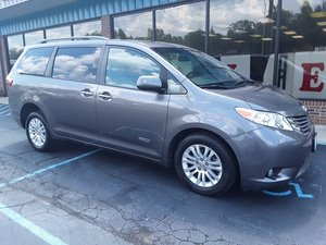 Used Wheelchair Van For Sale: 2016 Toyota Sienna XLE Wheelchair Accessible Van For Sale with a AutoAbility Wheelchair Van Conversions Rear Entry Toyota on it. VIN: 5TDYK3DC3GS693768