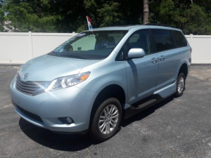 New Wheelchair Van For Sale: 2017 Toyota Sienna XLE Wheelchair Accessible Van For Sale with a VMI Toyota NorthstarAccess360 on it. VIN: 5TDYZ3DC5HS822817