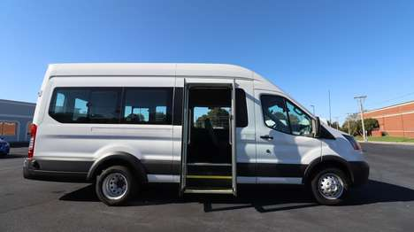 New Wheelchair Van For Sale: 2019 Ford Transit S Wheelchair Accessible Van For Sale with a  on it. VIN: 1FBVU4XM3KKB26763