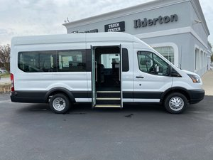 New Wheelchair Van For Sale: 2019 Ford Transit S Wheelchair Accessible Van For Sale with a  on it. VIN: 1FBVU4XM9KKB69293