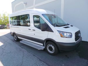 New Wheelchair Van For Sale: 2019 Ford Transit S Wheelchair Accessible Van For Sale with a  on it. VIN: 1FBZX2CM2KKB39278