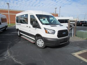 New Wheelchair Van For Sale: 2019 Ford Transit S Wheelchair Accessible Van For Sale with a  on it. VIN: 1FBZX2CM3KKA95078