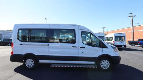 New Wheelchair Van For Sale: 2019 Ford Transit S Wheelchair Accessible Van For Sale with a  on it. VIN: 1FBZX2CM9KKA95084