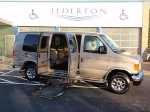 Used Wheelchair Van For Sale: 2003 Ford E-250  Wheelchair Accessible Van For Sale with a  on it. VIN: 1FDNE24L93HB35048