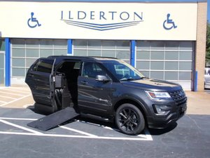 New Wheelchair Van For Sale: 2017 Ford Explorer Sport Wheelchair Accessible Van For Sale with a  on it. VIN: 1FM5K7D82HGC58172