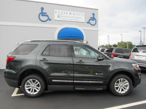 New Wheelchair Van For Sale: 2016 Ford Explorer LT Wheelchair Accessible Van For Sale with a  on it. VIN: 1FM5K7D84GGC62500