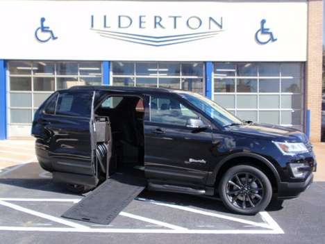 Used Wheelchair Van For Sale: 2017 Ford Explorer XL Wheelchair Accessible Van For Sale with a  on it. VIN: 1FM5K7D87HGB83419
