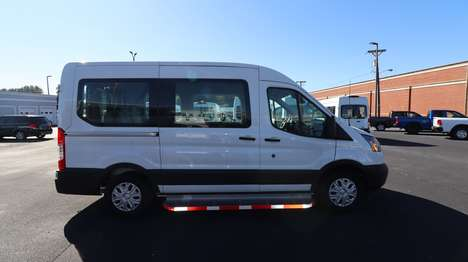 New Wheelchair Van For Sale: 2019 Ford Transit S Wheelchair Accessible Van For Sale with a  on it. VIN: 1FMZK1CM2KKB17362